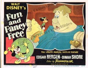 Lobby Card from Fun and Fancy Free