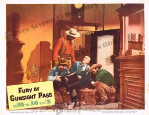 Lobby Card From Fury at Gunsight Pass