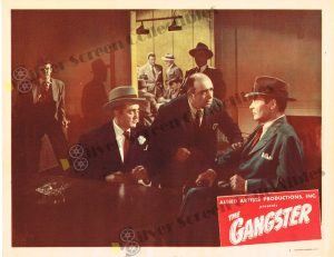 Lobby Card From The Gangster