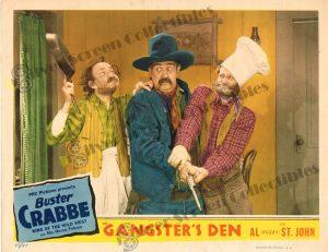 Lobby Card From Gangster's Den