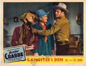 Lobby Card From Gangster's Den