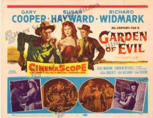 Lobby Card From Garden of Evil