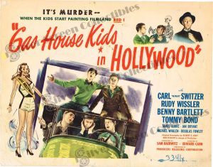 Lobby Card From Gas House Kids in Hollywood