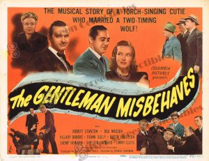 Lobby Card From The Gentleman Misbehaves