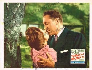 Lobby Card From The Ghost and Mrs. Muir