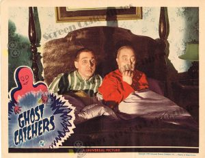 Lobby Card From Ghost Catchers