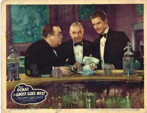 Lobby Card From The Ghost Goes West
