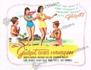 Lobby Card From Gidget Goes Hawaiian
