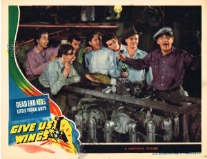 Lobby Card From Give Us Wings