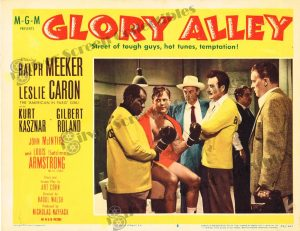 Lobby Card From Glory Alley