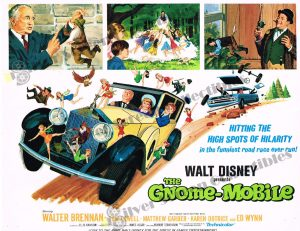 Lobby Card from The Gnome-Mobile