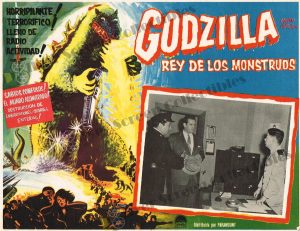 Lobby Card from Godzilla King of The Monsters