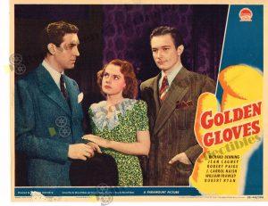 Lobby Card From Golden Gloves