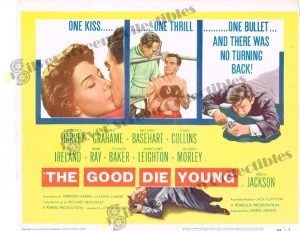 Lobby Card From The Good Die Young
