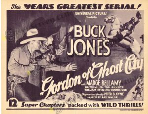 Lobby Card from Gordon of Ghost City