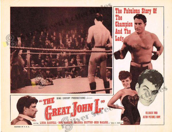 Lobby Card from The Great John L.
