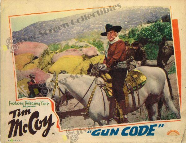 Lobby Card From Gun Code