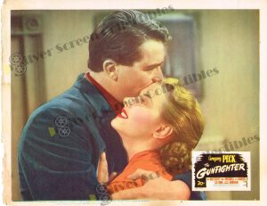 Lobby Card From The Gunfighter