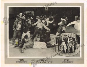 Lobby Card from Hands Off!