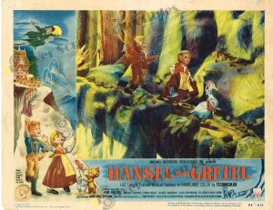 Lobby Card from Hansel and Gretel
