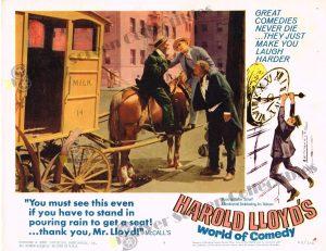 Lobby Card From Harold Lloyd's World of Comedy