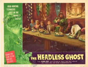 Lobby Card from The Headless Ghost
