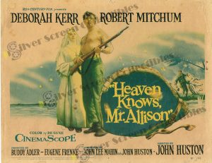 Lobby Card from Heaven Knows