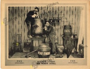 Lobby Card from His Noisy Still