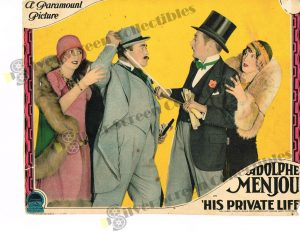 Lobby Card from His Private Life