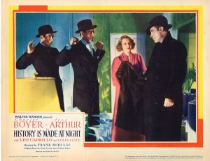 Lobby Card from History is Made at Night