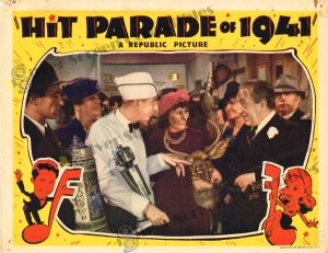 Lobby Card from Hit Parade of 1941