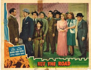 Lobby Card From Hit the Road