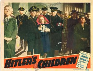 Lobby Card from Hitler's Children
