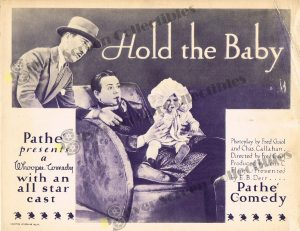 Lobby Card from Hold The Baby