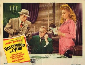 Lobby Card From Hollywood and Vine