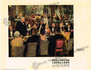 Lobby Card From Hollywood Cavalcade