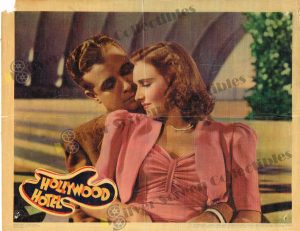 Lobby Card From Hollywood Hotel