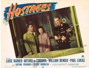 Lobby Card From Hostages