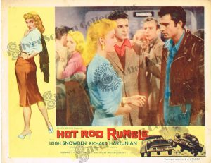Lobby Card From Hot Rod Rumble