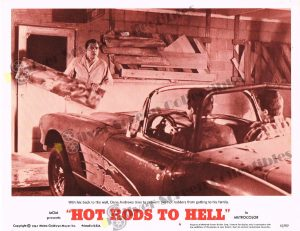Lobby Card From Hot Rods to Hell