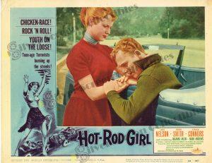 Lobby Card From Hot-Rod Girl