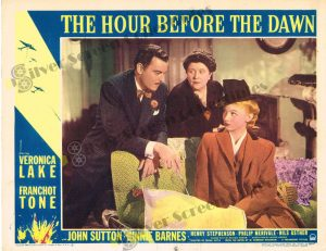 Lobby Card from The Hour Before The Dawn