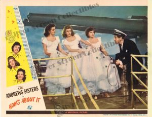 Lobby Card From How's About It?