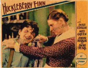 Lobby Card from Huckleberry Finn