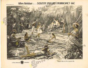 Lobby Card from Hurricane's Gal