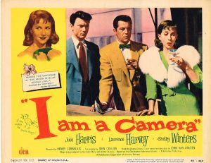 Lobby Card from I am a Camera
