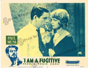 Lobby Card From I Am a Fugitive from a Chain Gang