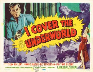 Lobby Card From I Cover the Underworld