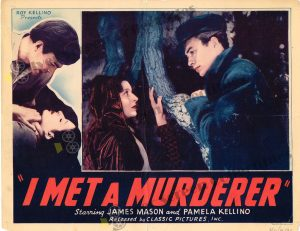 Lobby Card From I Met a Murderer