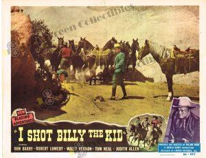 Lobby Card From I Shot Billy the Kid